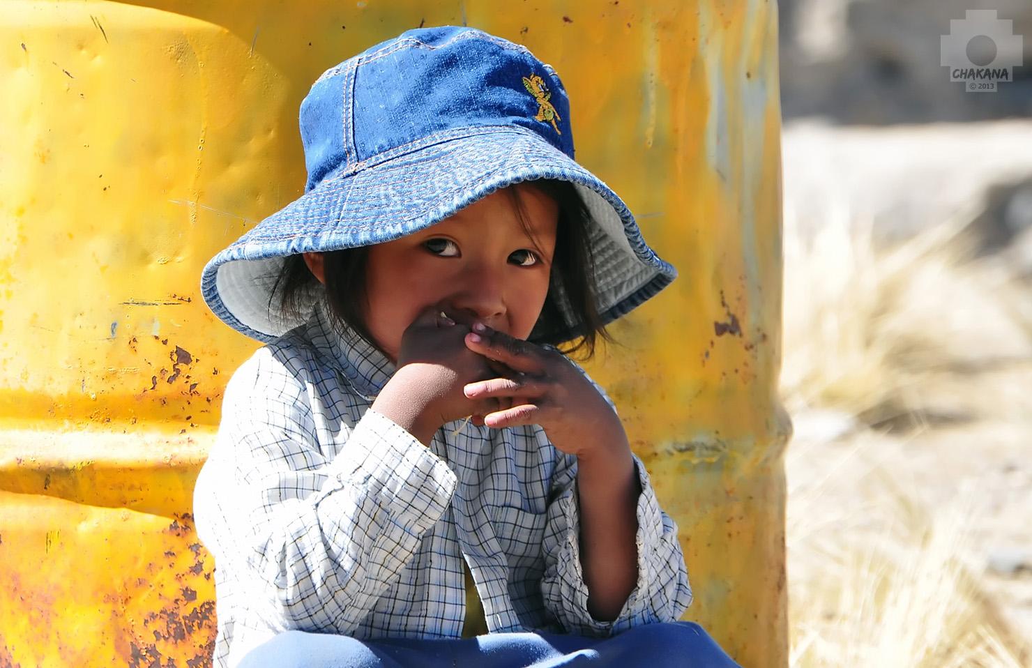 Peruanisches Kind