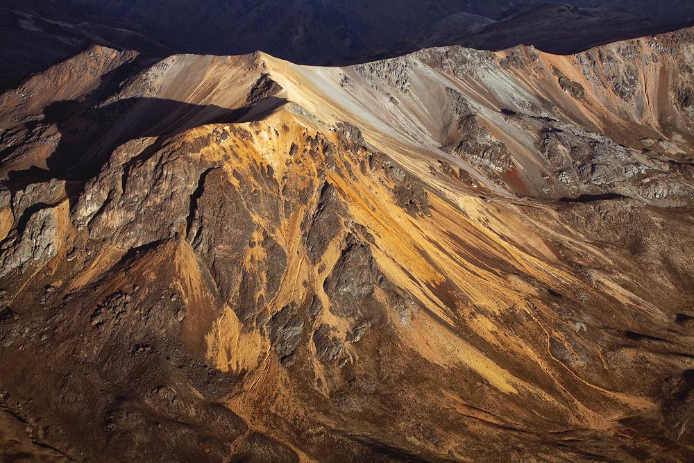 Perus bunte Berge