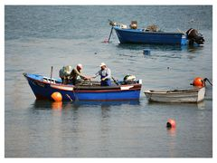 Pesca na Trafaria  Portugal