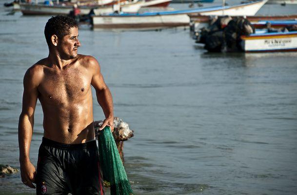 Pescador de Juan Griego