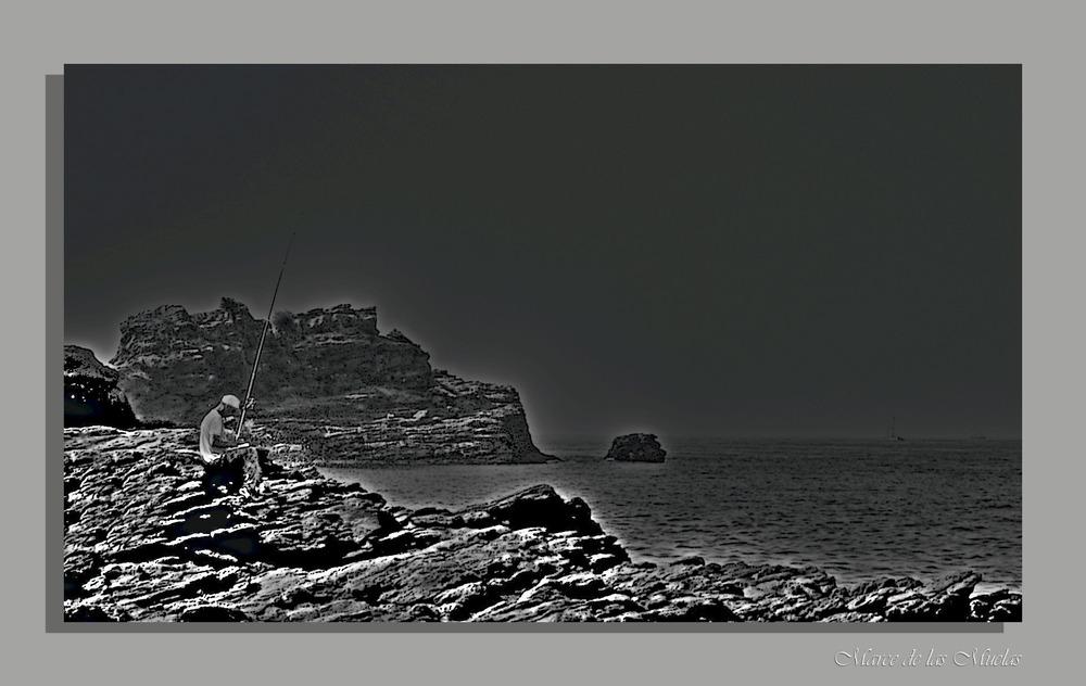 ...pescador solitario...