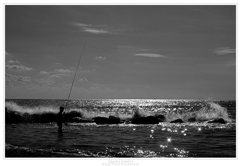 Pescando in solitaria