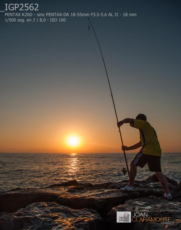 Pescando soles