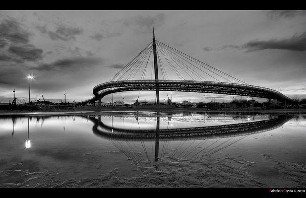 Pescara: il doppio Ponte del Mare