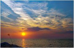 pescare il sole con il guadino....