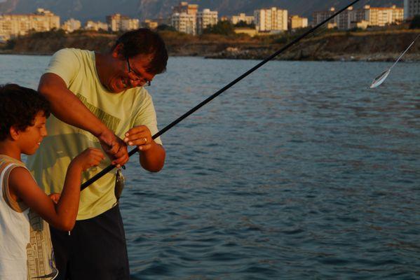 Pescatore contento di poco