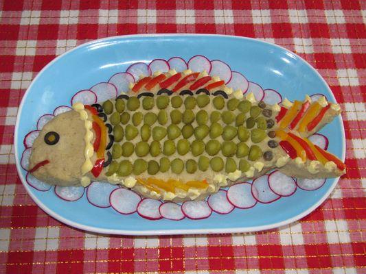 pesce finto per il mio compleanno