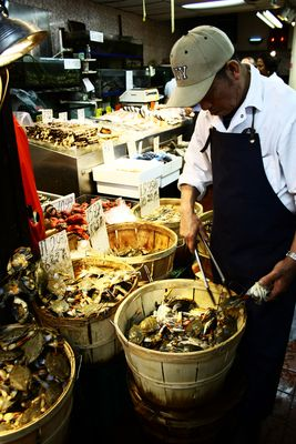 Pesce fresco a chinatown