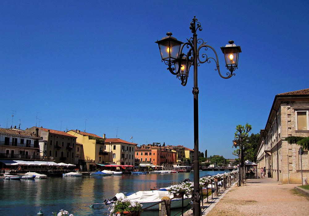Peschiera at Lake Garda