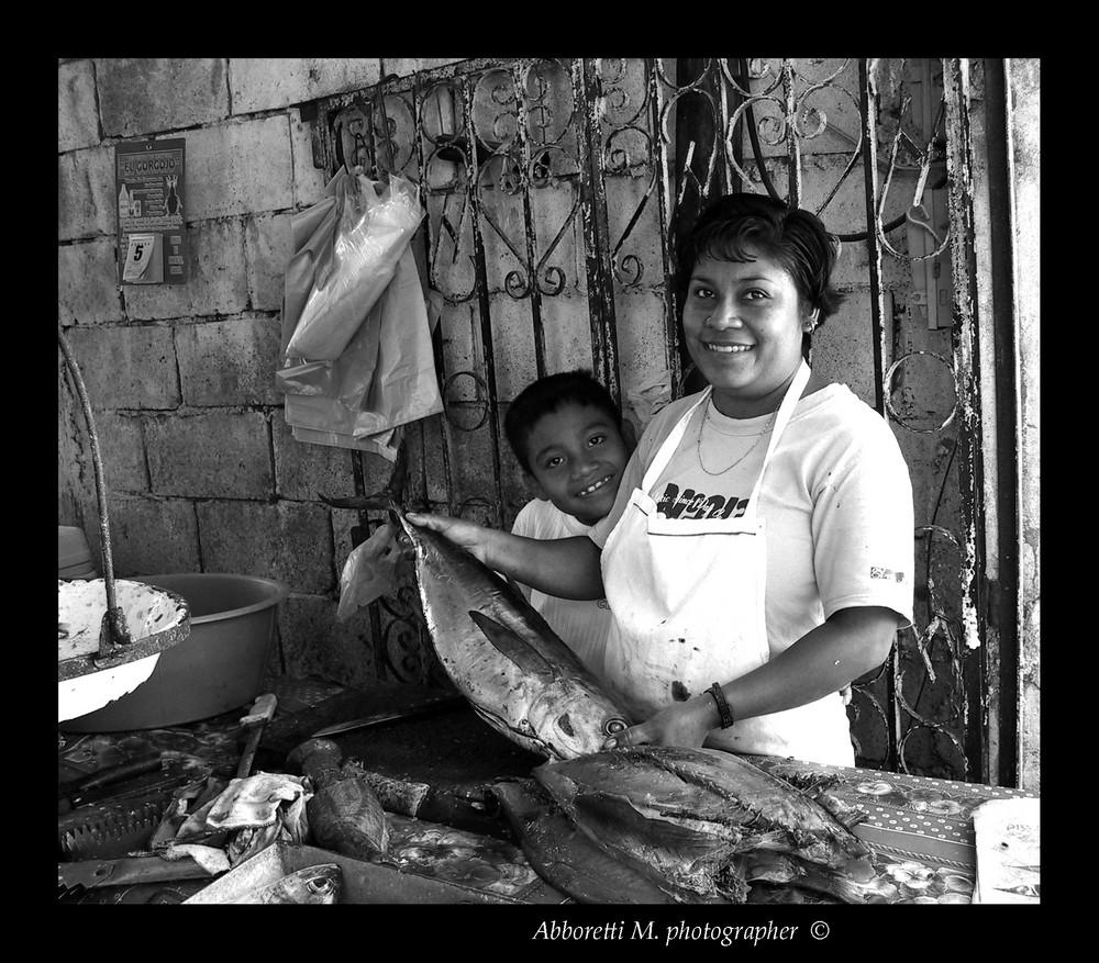 pescivendola di Santo Domingo