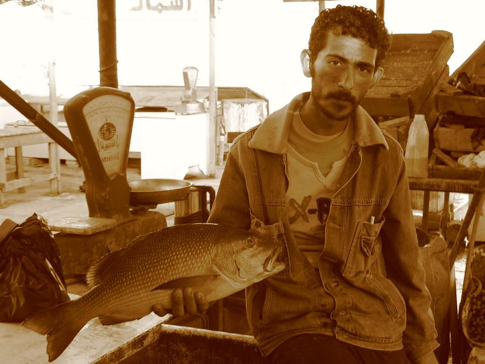 pescivendolo a hurghada