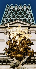 Pestsäule am Graben in Wien