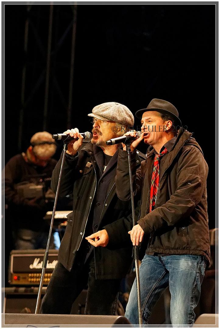 Peter Brings und Wolfgang Niedecken @ Arsch huh 2012