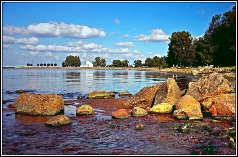 Peterhof, coast.