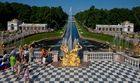 Peterhof - Der Blick zum Meer