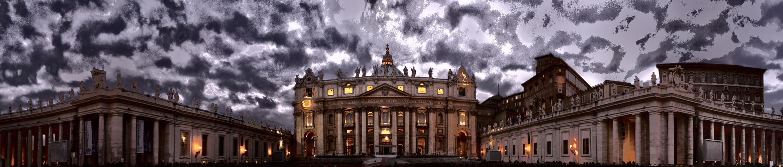 Petersdom im Advent