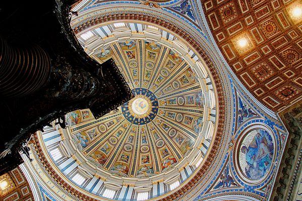 Petersdom -innere Kuppel