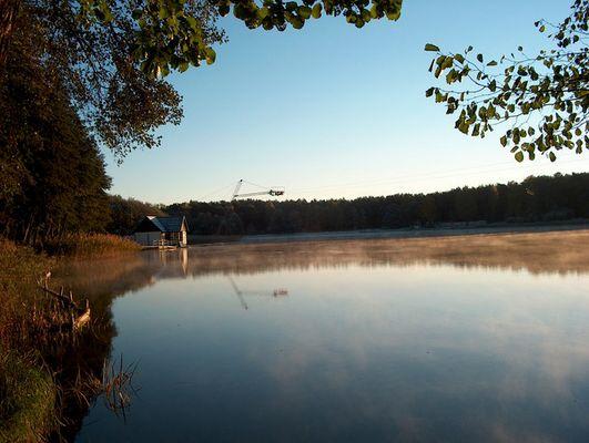 Petersdorfer See am frühen Morgen