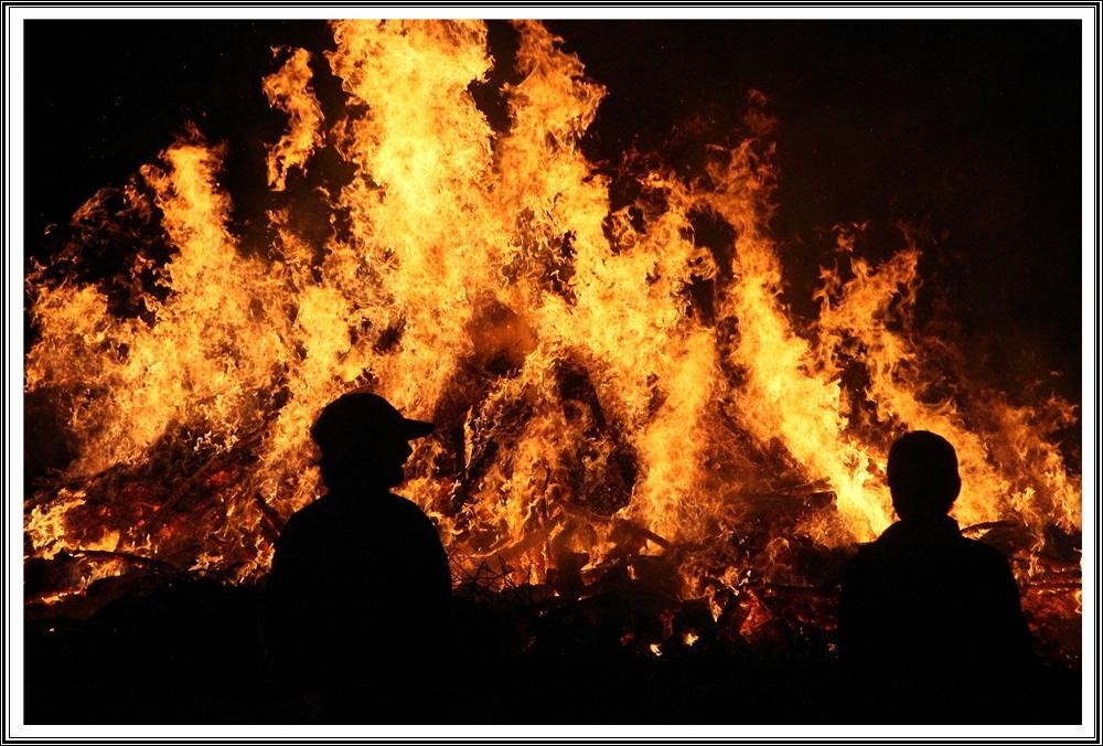 Petersfeuer in Lichtenau