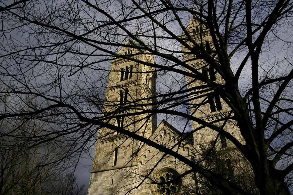 Peterskirche auf dem Friedhof St. Peter in der Petergasse in Straubing