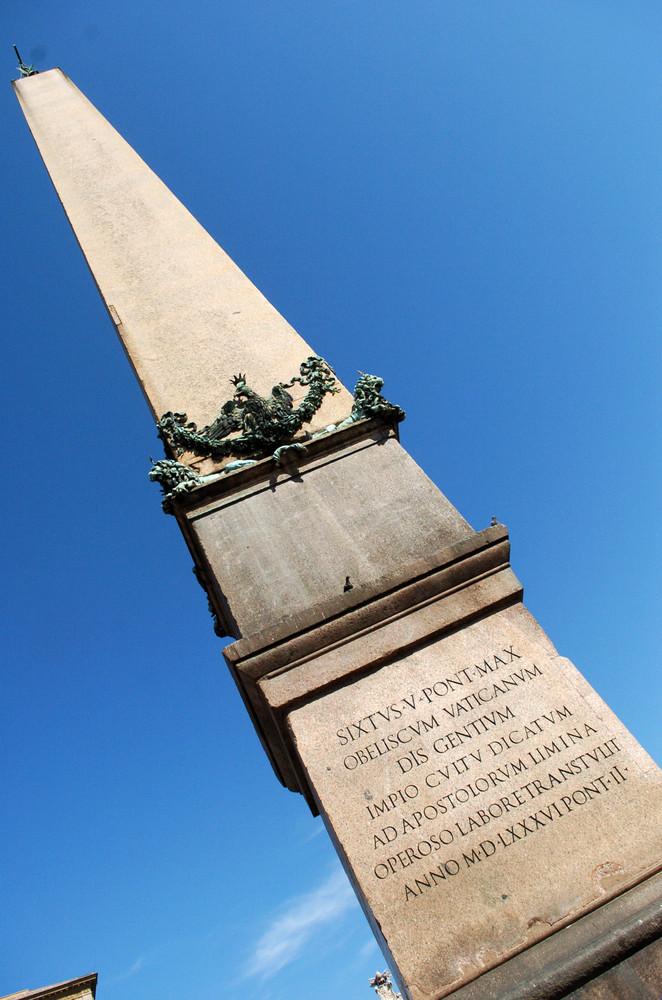 Petersplatz Obelisk