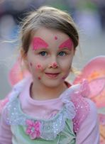 Petit ange du carnaval