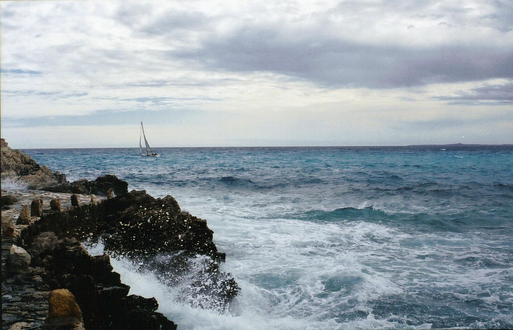 petit bateau, méditerranée
