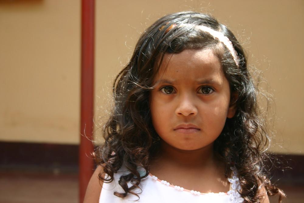 Petit fille Jinotega Nicaragua