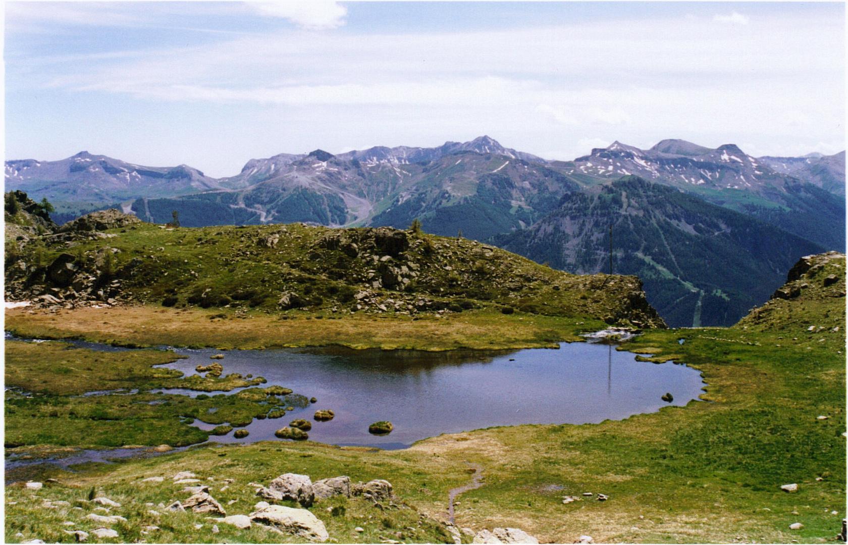 Petit lac dans le Mercantour