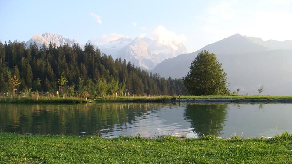 Petit lac de montagne...