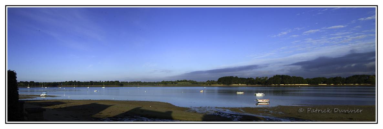 Petit matin à l'île tudy