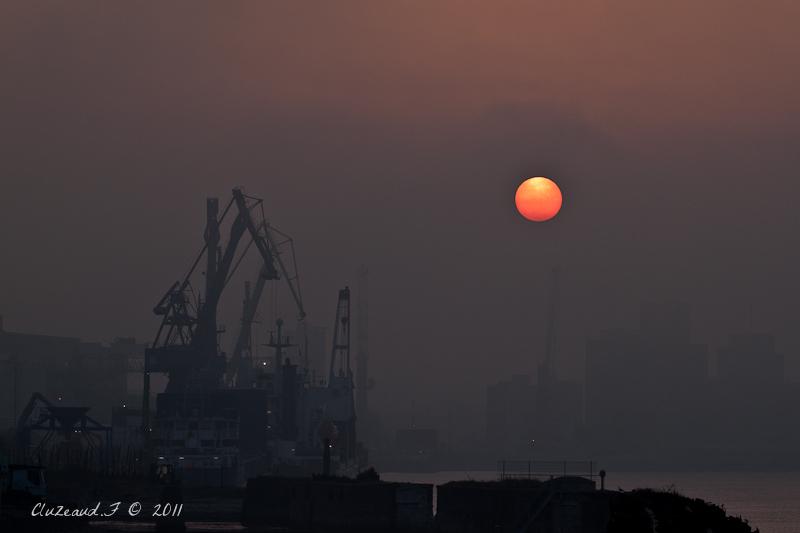 Petit matin sur le port