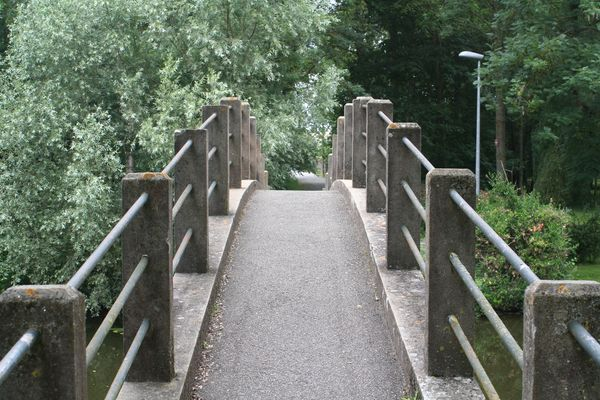 petit pont dans la nature