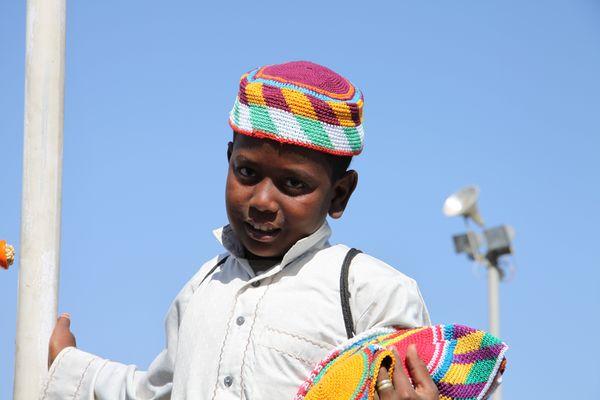 Petit vendeur Nubien.