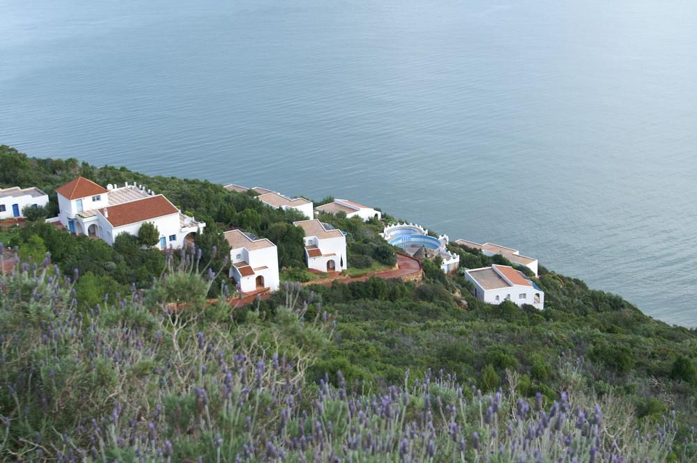 petit village avec vue imprenable