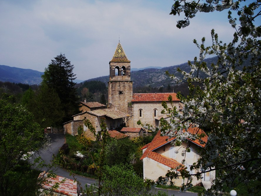 petit village d'Ardèche