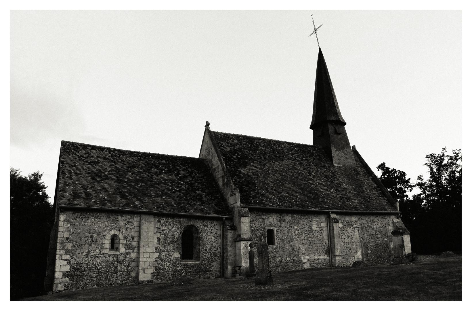 petite eglise en haute normandie