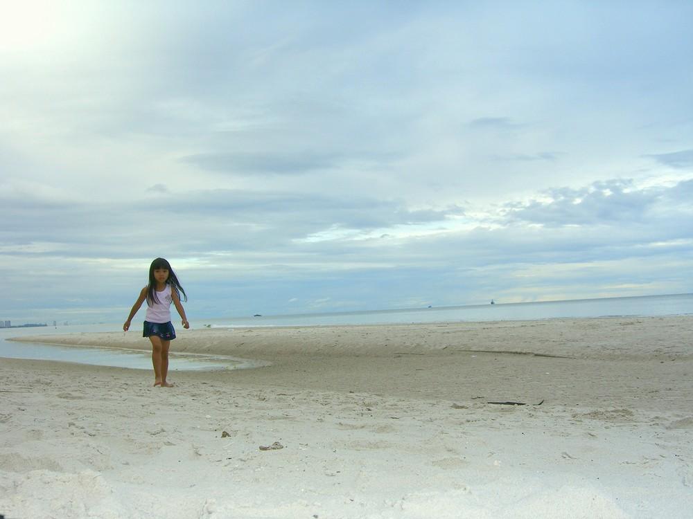 Petite fille de Thaïlande