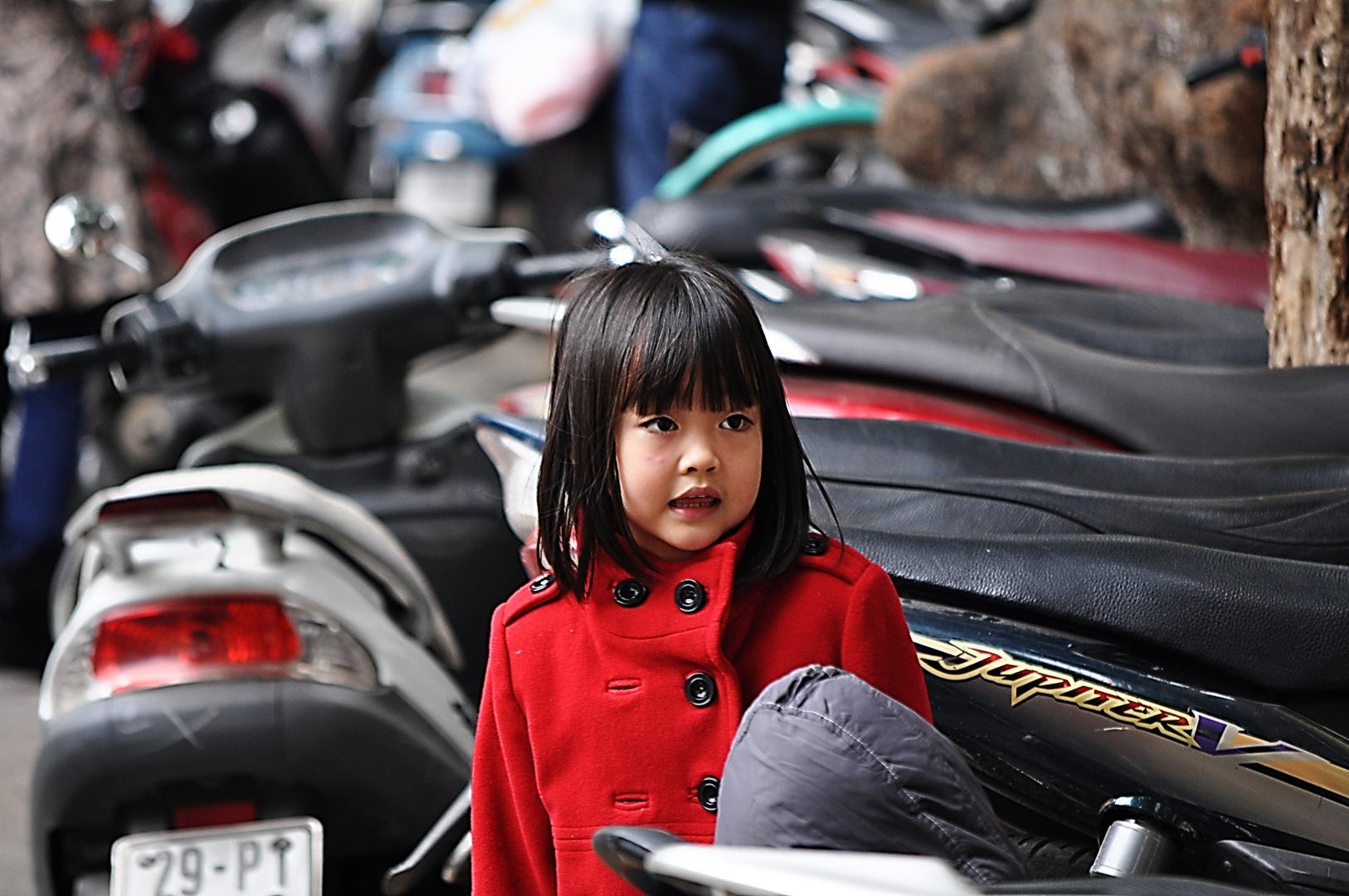 Petite fille d'Hanoi