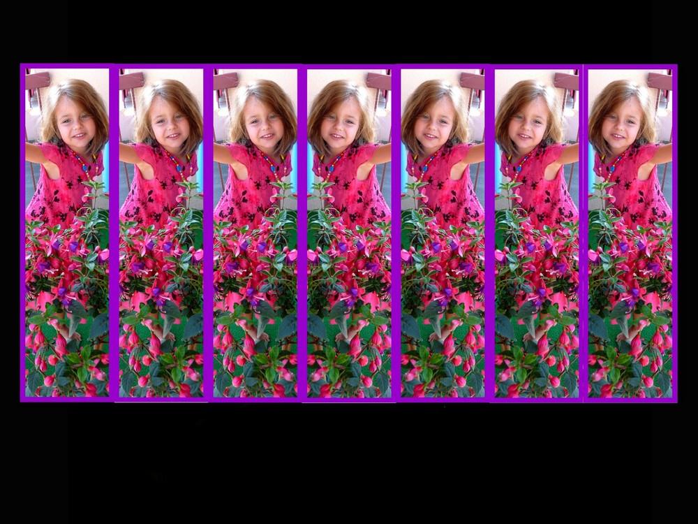 petite fille multipe