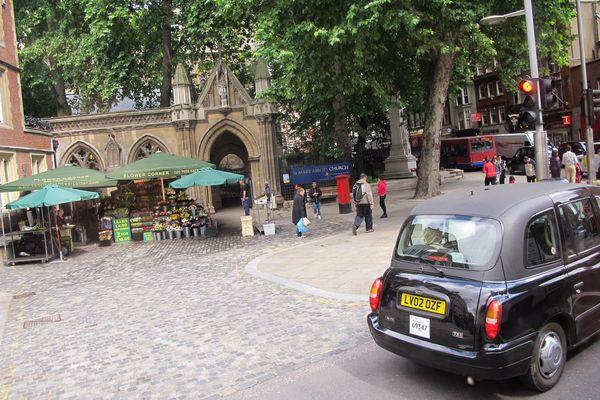 Petite place sympa au coeur de Londres