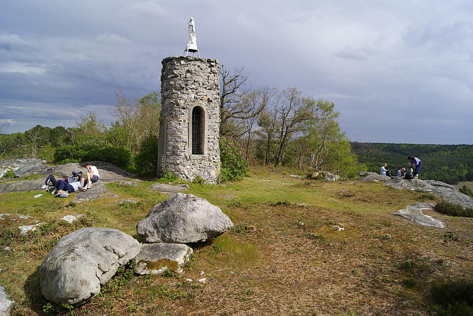 petite pose en forêt de Fontainebleau