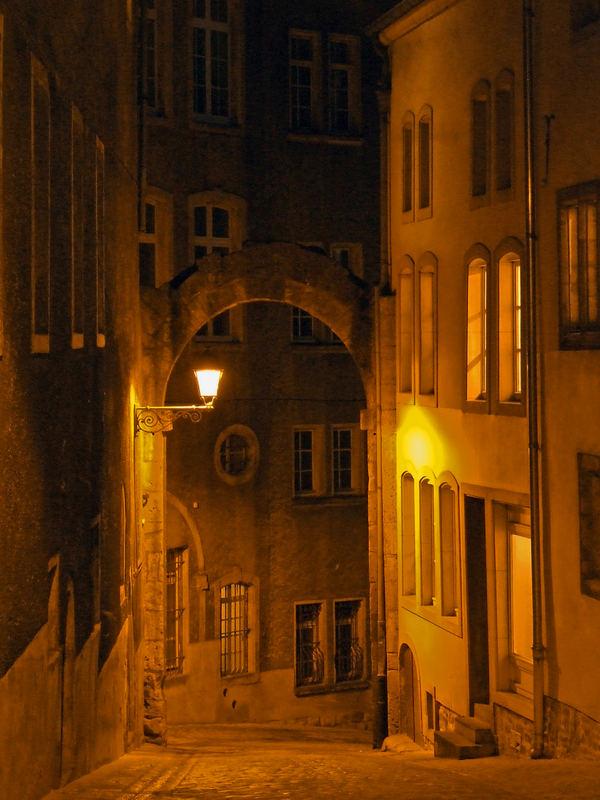 Petite ruelle à Luxembourg