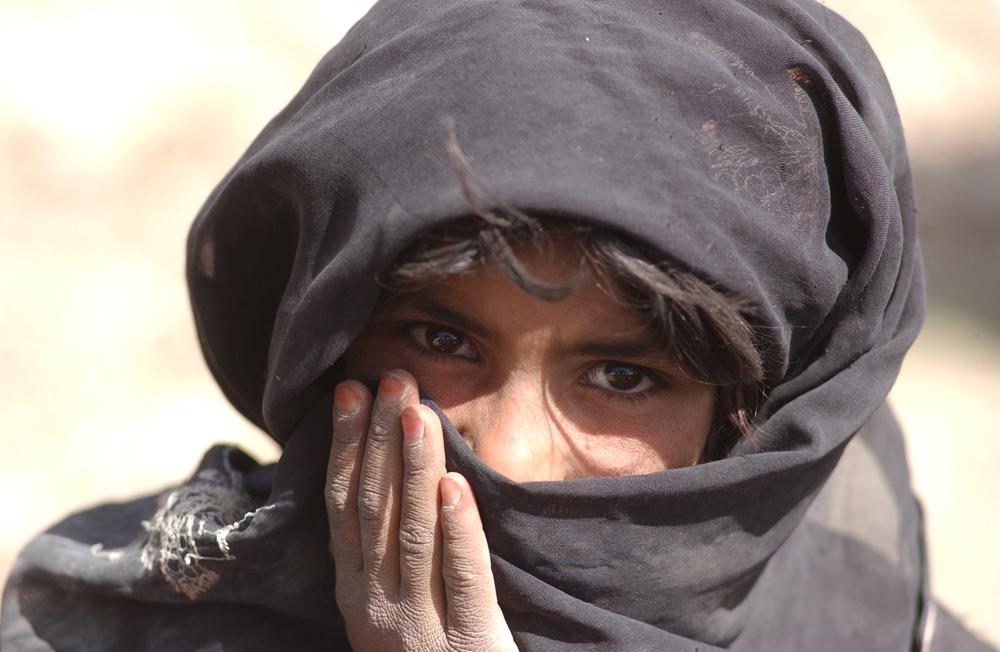 Petites filles afghanes