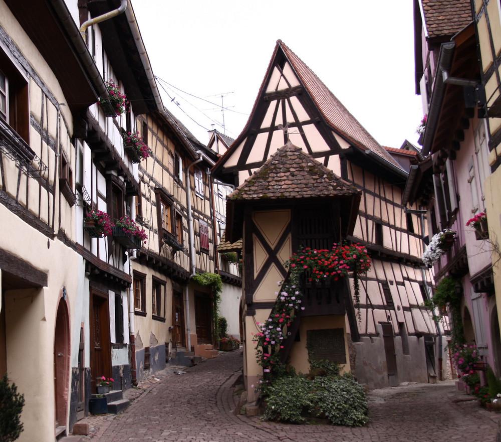 petites ruelles Alsaciennes!
