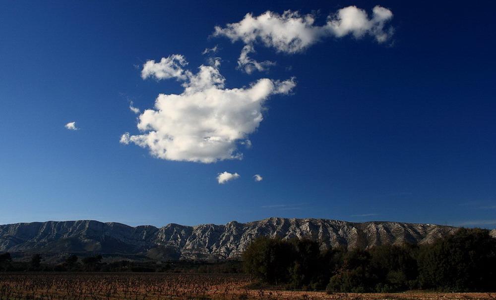 petits nuages en Provence