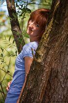 Petra auf dem Baum #2