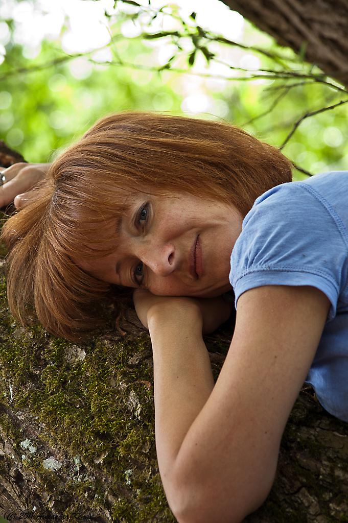 Petra auf dem Baum #4