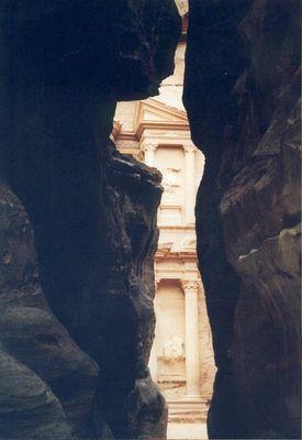 Petra Tempel Jordanien