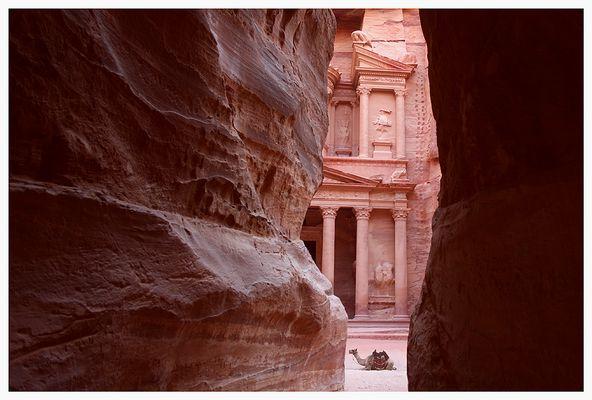 Petra - The Treasury - Schatzhaus des Pharao